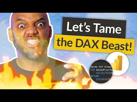 TAME the the beast that is DAX in Power BI (aka how to learn DAX ...