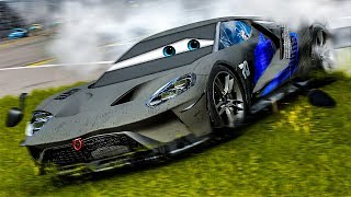 Jackson Storm Loses Control! | Forza Motorsport 7 | Cars 3