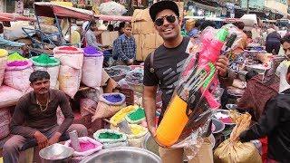 Shopping For Holi   Sabse Pakke Rang Yha Milte Hai