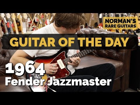 Guitar of the Day: 1964 Fender Jazzmaster   Norman's Rare Guitars