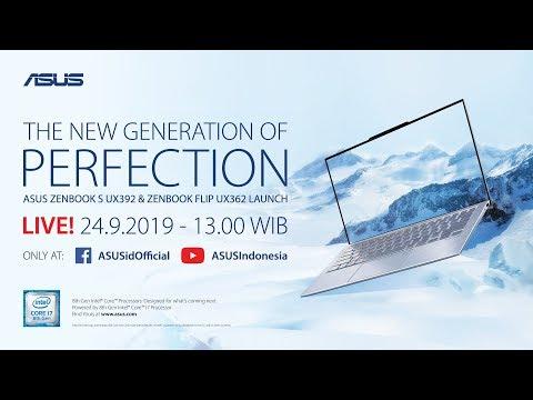 New Generation of Perfection - New ZenBook S & ZenBook Flip Live Launching Event