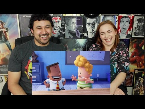 CAPTAIN UNDERPANTS: THE FIRST EPIC MOVIE TRAILER #1 REACTION & REVIEW!