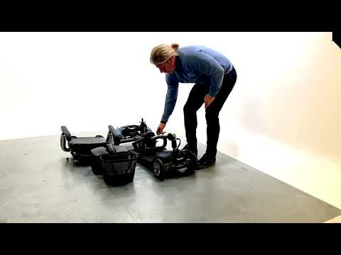 TGA Eclipse Used Mobility Scooter Small Transportable Boot Folding Light