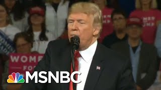 President Donald Trump TV Stops Airing Every Single Trump Rally | All In | MSNBC