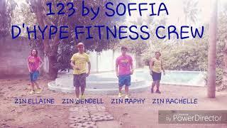 ZUMBA 123 By SOFIA REYES FT. JASON DERULO D'HYPE FITNESS CREW