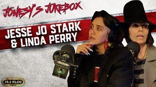 Jesse Jo Stark & Linda Perry In Studio on Jonesy's Jukebox!