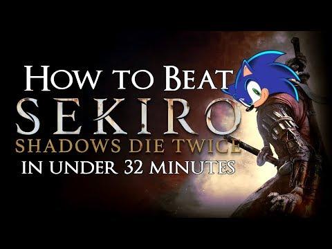 How to Beat Every Sekiro Boss & Mini-Boss in Under 2 Hours (w/Walkthrough Commentary)