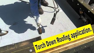 Torch Down Techniques And Details Application Video.