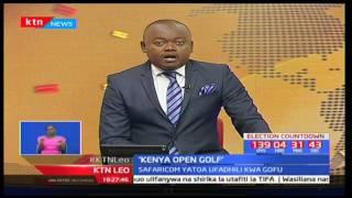 Mshindi wa Barclays Kenya Open Sebastian Soderberg ako tayari kutetea hadhi yake mwaka huu