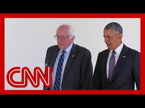Bernie Sanders touts