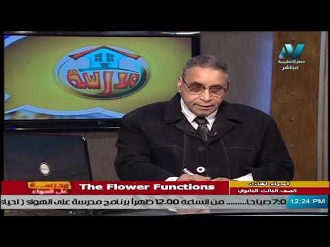 أحياء لغات للصف الثالث الثانوي 2021 - الحلقة 18 - The Flower Functions