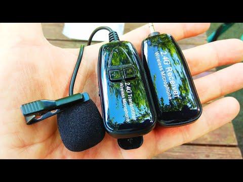 Беспроводной петличный микрофон / Wireless lavalier microphone