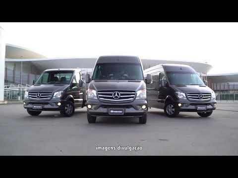 Mercedes-Benz lança edição especial da Sprinter no Brasil; veja vídeo