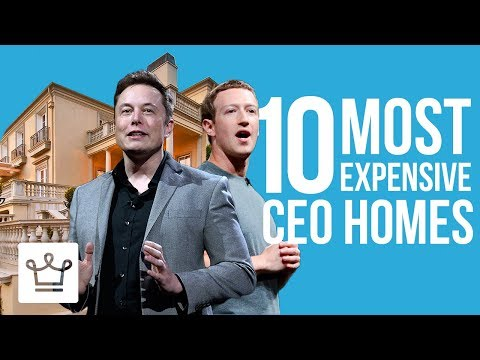 Top 10 Most Expensive CEO Homes