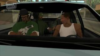 GTA San Andreas - Walkthrough - Mission #7 - Drive-By (HD)