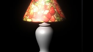 Autodesk Maya 2014 Tutorial Night Lamp Modeling,Texturing