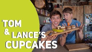 Tom & Lance's Cupcakes (Banana & Carrot) *GOAL 4* I Tom Daley