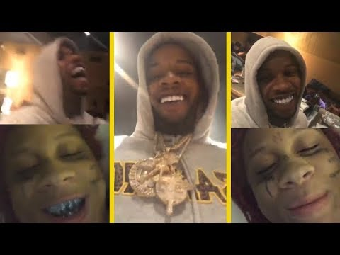Tory Lanez & Trippie Redd On Joyner Lucas Wanting Smoke!