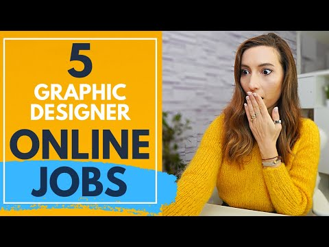 5 Graphic Design Freelance Websites that pay well in 2021 (graphic design from home jobs)