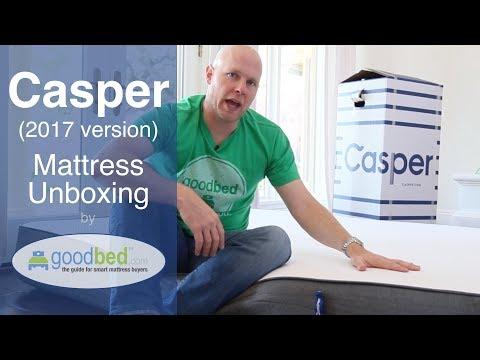 Casper Mattress Unboxing (VIDEO)
