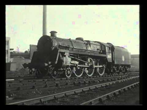 A Visit To Saltley Shed - Railway Roundabout 1959