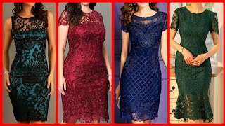 Top 55+ Designer Bodycon Lace Dress Design Ideas For Women 2k20 - Latest Lace Bodycon Dresses