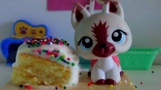 LPS: Cooking With Lauren - BIRTHDAY CAKE!