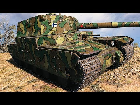 Type 5 Heavy - NERFED/BUFFED GODZILLA - World of Tanks Gameplay