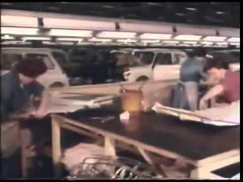 Austin7 MK1 Mini, BMC, Longbridge Production line Documentary 1959