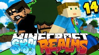 Minecraft: SKYREALMS | GETTING ALL THE HEADS!!
