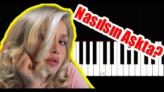 Aleyna Tilki   Nasılsın Aşkta?   Piano Tutorial By VN
