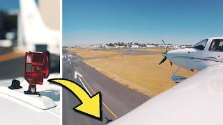 New GoPro wing mount | SR22 VFR coastal flight