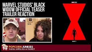Marvel Studios' BLACK WIDOW Official Teaser Trailer - The POPCORN JUNKIES Reaction