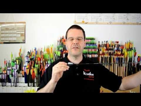 Bogensport Grundlagen - Spinewerte und Pfeillängen, Spinewerttabellen