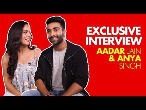 EXCLUSIVE:Aadar Jain & Anya Singh On Bollywood Debut, Ranbir Kapoor, Nepotism & Trolling | SpotboyE