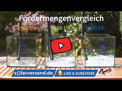 Leistung satt! - Realisieren Sie mit esotec Solar Bachlaufpumpen Ihren Traum vom stromlosen Bachlauf