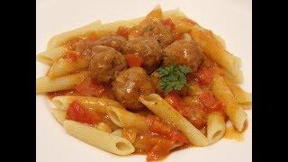 Pomysł na obiad - PULPETY W SOSIE POMIDOROWYM Z PAPRYKĄ