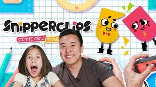 DON'T CUT ME!!! Let's Play Some SNIPPERCLIPS!