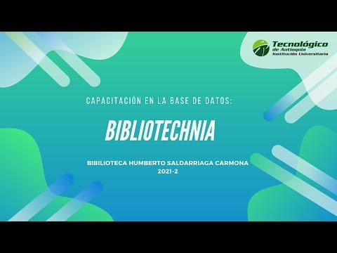 Capacitación plataforma Bibliotechnia