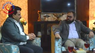 Interview of Col.Khaqan Sajid famous writer