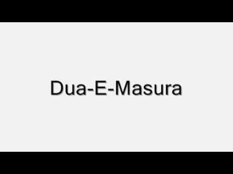 Download Dua-E-Masura Mp4 HD Video and MP3
