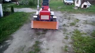 Tractoras Facut Acasa Cu Motor De Dacia