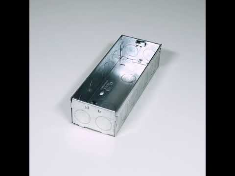 8x3, 6M S&G MS Modular Electrical GI Metal Box