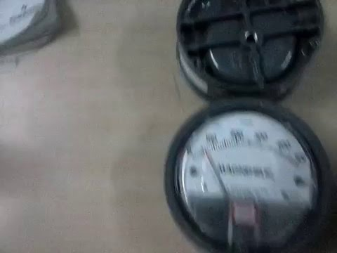 DWYER Mack Magnehelic Gauges 0 To 8 MMWC