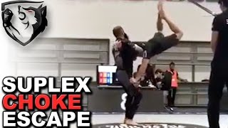 Ridiculous Move: Guillotine Choke Suplex Escape