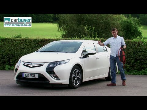 Vauxhall Ampera (Chevrolet Volt) Electric Car Review