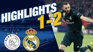 GOALS & HIGHLIGHTS | Ajax 1-2 Real Madrid