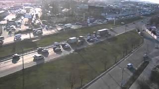ДТП с фурой на Окружной в Киеве