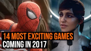 The 14 most exciting games coming in 2017