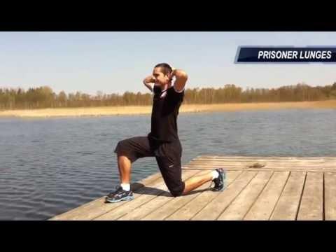 """""""Krafttraining mit dem eigenen Körpergewicht"""" Teil 1 / Bodyweight Exercises - 10x10 Zirkeltraining"""